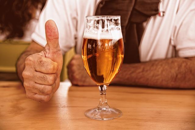 kaloryczność piwa, wódki i innych alkoholi