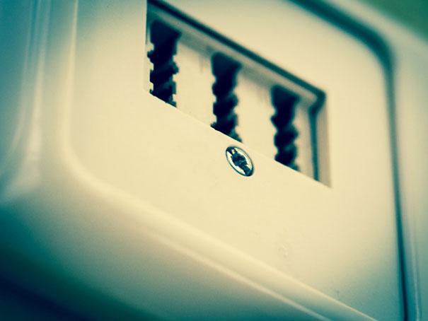 Niedostępne gniazdka elektryczne