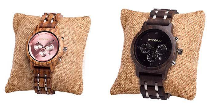 Zegarki drewniane - jeszcze bliżej natury